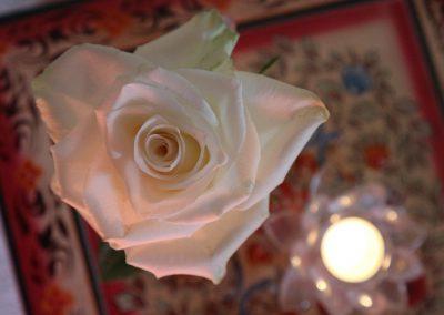 witte-roos-kaars